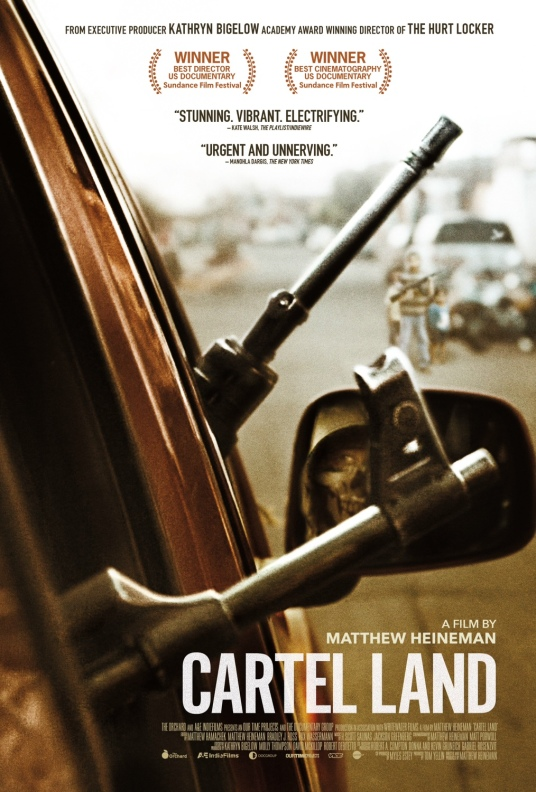 """Cartel Land"" poster"