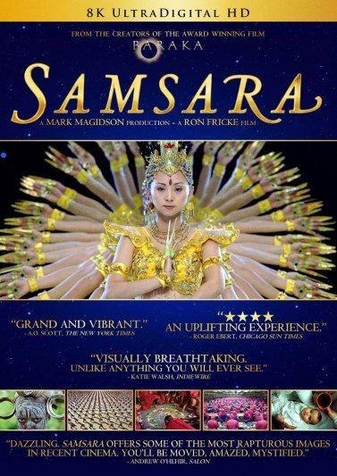 """Samsara"" DVD quote"