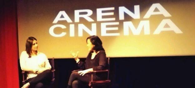 Q&A with Chiemi Karasawa at Arena Cinema