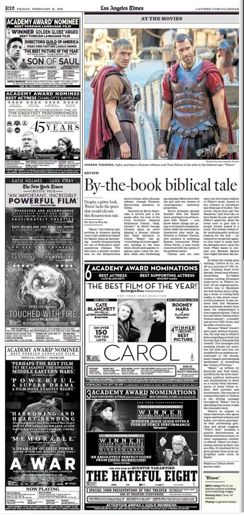 Risen LA Times review 21916