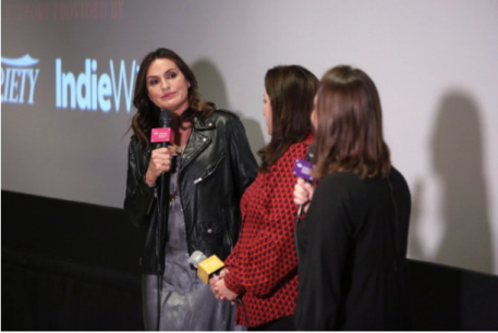 """I am Evidence"" IDA Q&A with Mariska Hargitay"